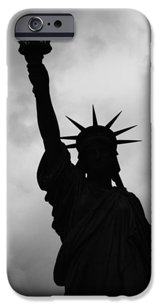 Statue Of Liberty Silhouette IPhone 6s Case