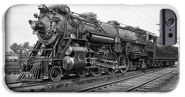 Washington D.c iPhone 6s Case - Steam Locomotive Crescent Limited C. 1927 by Daniel Hagerman