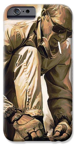 Steve Mcqueen Artwork IPhone 6s Case by Sheraz A