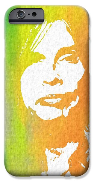 Steven Tyler Canvas IPhone 6s Case by Dan Sproul