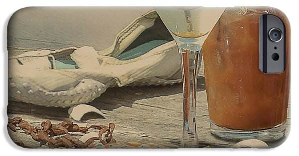 Still Life - Beach With Curves IPhone 6s Case by Jeff Burgess