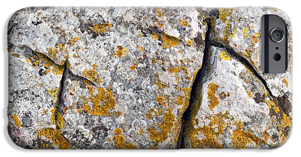 Stone Background IPhone 6s Case by Sinisa Botas