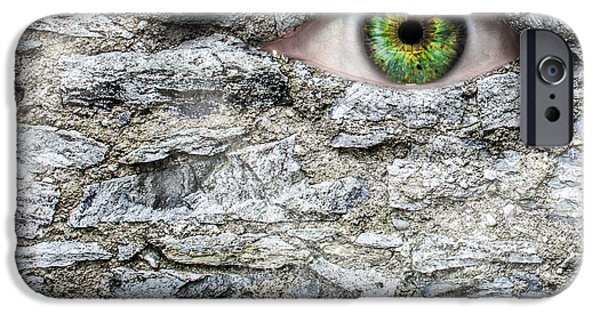 Stone Face IPhone 6s Case by Semmick Photo