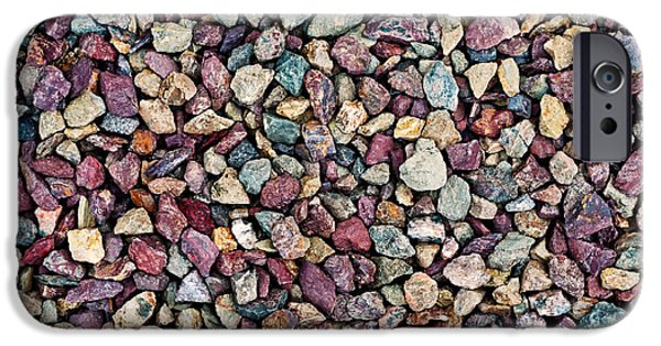 Stone Pebbles  IPhone 6s Case by Ulrich Schade