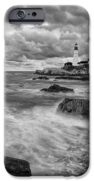 Storm Coming IPhone Case by Jon Glaser