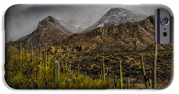 Storm Over Catalinas Aso IPhone 6s Case by Mark Myhaver