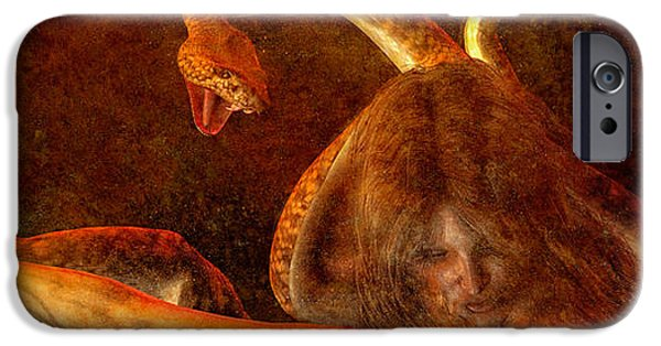 Gorgon iPhone 6s Case - Story Of Eve by Bob Orsillo