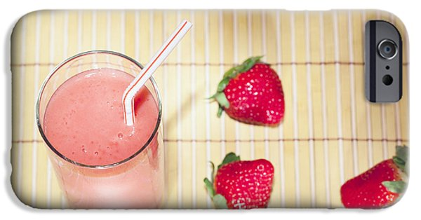 Smoothie iPhone 6s Case - Strawberry Smoothie by Alexey Stiop