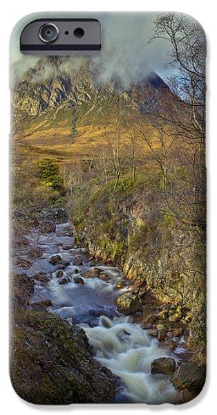 Stream Below Buachaille Etive Mor IPhone 6s Case by Gary Eason