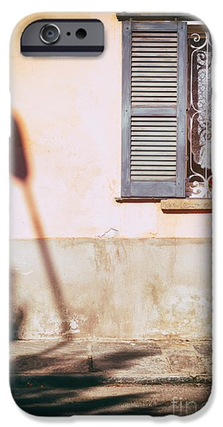 IPhone 6s Case featuring the photograph Street Lamp Shadow And Window by Silvia Ganora