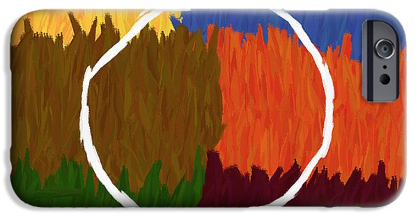 Strokes Of Colour IPhone 6s Case by Condor