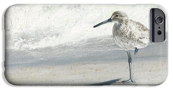 Sandpiper iPhone 6s Case - Study Of A Sandpiper by Dreyer Wildlife Print Collections