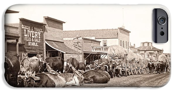 Sturgis South Dakota C. 1890 IPhone Case by Daniel Hagerman