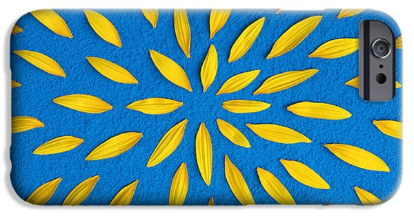 Sunflower iPhone 6s Case - Sunflower Petals Pattern by Tim Gainey