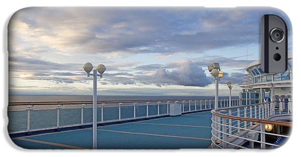 Cruise Ship iPhone 6s Case - Sunset Cruise by Betsy Knapp