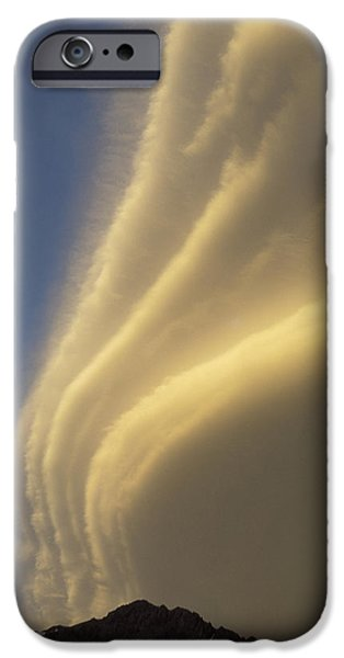 Whitehouse iPhone 6s Case - Sunset On Storm Clouds Near Mt Cook by Ian Whitehouse