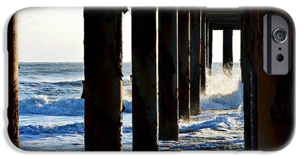 Sunwash At St. Johns Pier IPhone 6s Case by Anthony Baatz
