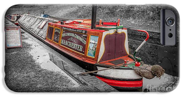 Swallow iPhone 6s Case - Swallow Canal Boat by Adrian Evans