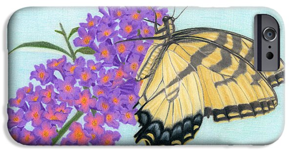Swallowtail Butterfly And Butterfly Bush IPhone 6s Case
