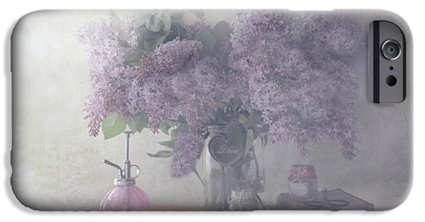 Perfume iPhone 6s Case - Sweet Lilacs by Delphine Devos