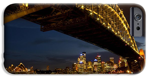 IPhone 6s Case featuring the photograph Sydney Harbour Bridge by Miroslava Jurcik