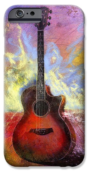 Guitar iPhone 6s Case - Taylor by Andrew King