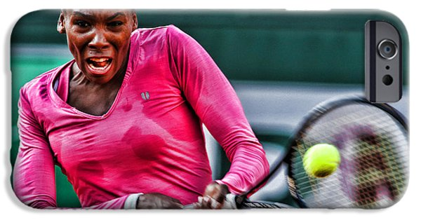 Venus Williams iPhone 6s Case - Tennis Star Venus Williams by Srdjan Petrovic