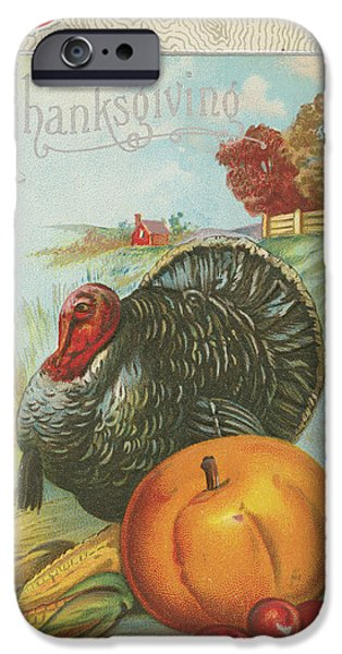 Thanksgiving Postcards I IPhone 6s Case by Wild Apple Portfolio