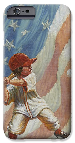 The Batter IPhone 6s Case by Gregory Perillo