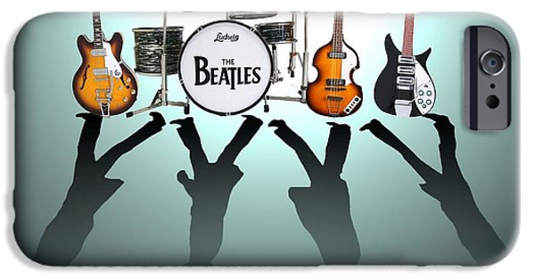 Musicians iPhone 6s Case - The Beatles by Lena Day