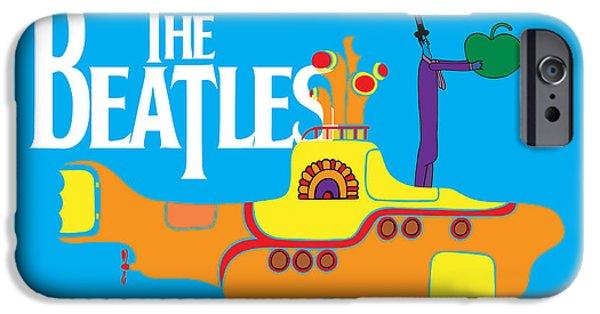 Music iPhone 6s Case - The Beatles No.11 by Geek N Rock