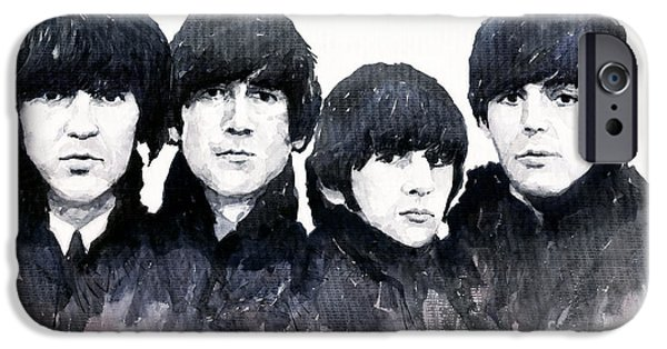 Musicians iPhone 6s Case - The Beatles by Yuriy Shevchuk
