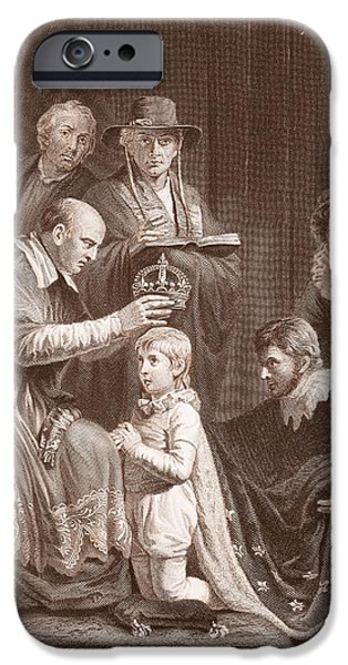 The Coronation Of Henry Vi, Engraved IPhone 6s Case by John Opie