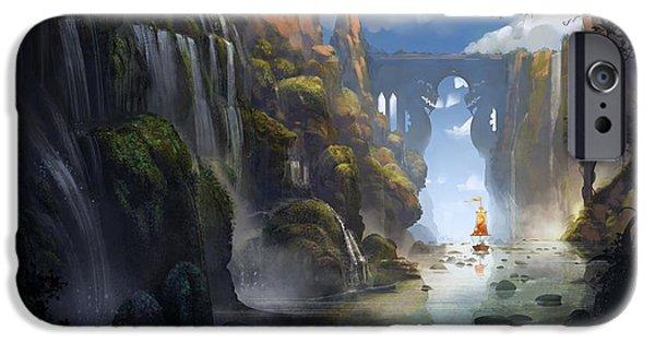 Dragon iPhone 6s Case - The Dragon Land by Kristina Vardazaryan