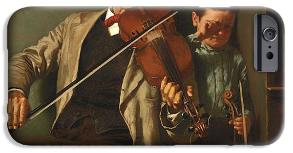 Violin iPhone 6s Case - The Duet by Mountain Dreams
