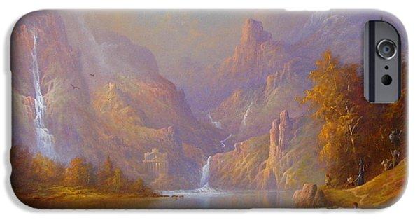 The Fellowship Doors Of Durin Moria.  IPhone 6s Case by Joe  Gilronan