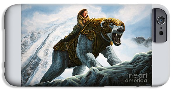 Polar Bear iPhone 6s Case - The Golden Compass  by Paul Meijering