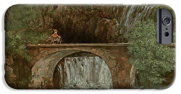 The Great Bridge, 1864 IPhone 6s Case by Gustave Courbet