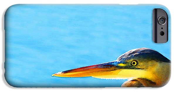 The Great One - Blue Heron By Sharon Cummings IPhone 6s Case by Sharon Cummings