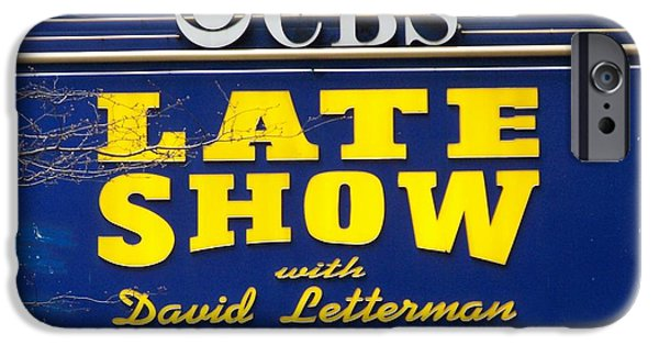 The Late Show With David Letterman IPhone 6s Case by Kenneth Summers