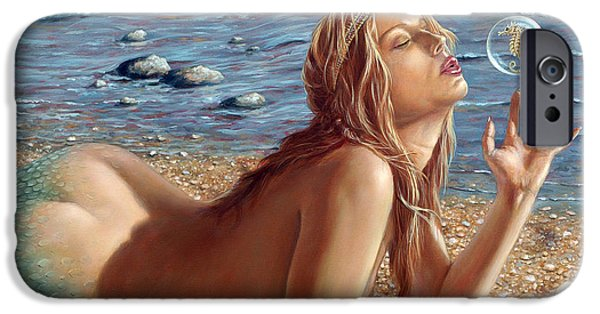Nudes iPhone 6s Case - The Mermaids Friend by John Silver
