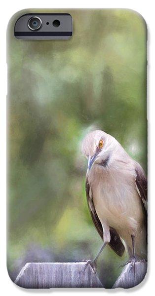 Mockingbird iPhone 6s Case - The Mockingbird by David and Carol Kelly