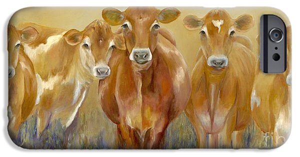 Cow iPhone 6s Case - The Morning Moo by Catherine Davis