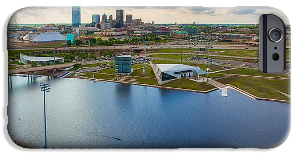 Capitol Building iPhone 6s Case - The Oklahoma River by Cooper Ross