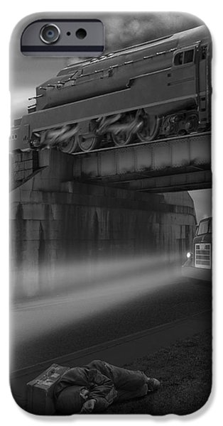 Buzzard iPhone 6s Case - The Overpass by Mike McGlothlen