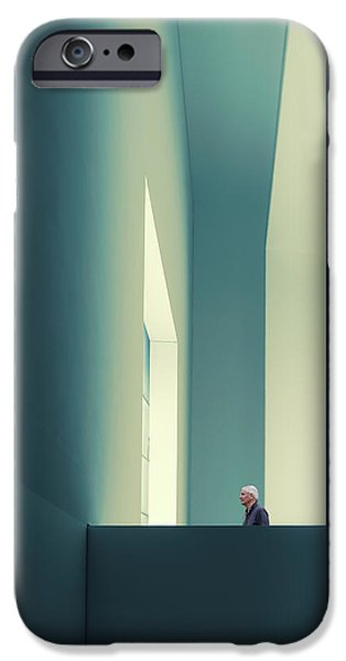 Teal iPhone 6s Case - The Passage by Luc Vangindertael (lagrange)