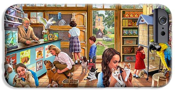 The Pet Shop IPhone 6s Case by Steve Crisp