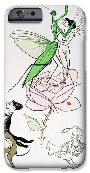 Grasshopper iPhone 6s Case - The Poets Corner by Sem