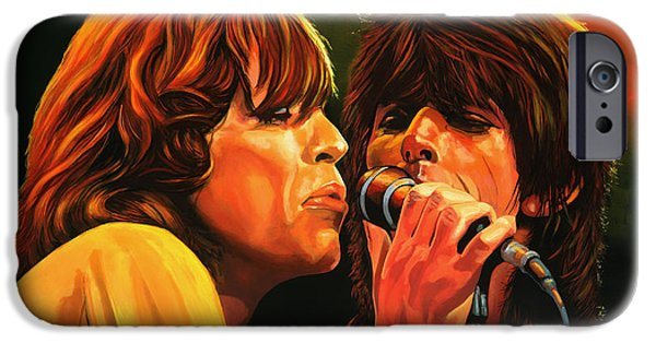 Musicians iPhone 6s Case - The Rolling Stones by Paul Meijering