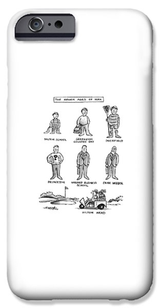 Harvard iPhone 6s Case - The Seven Ages Of Man by Henry Martin